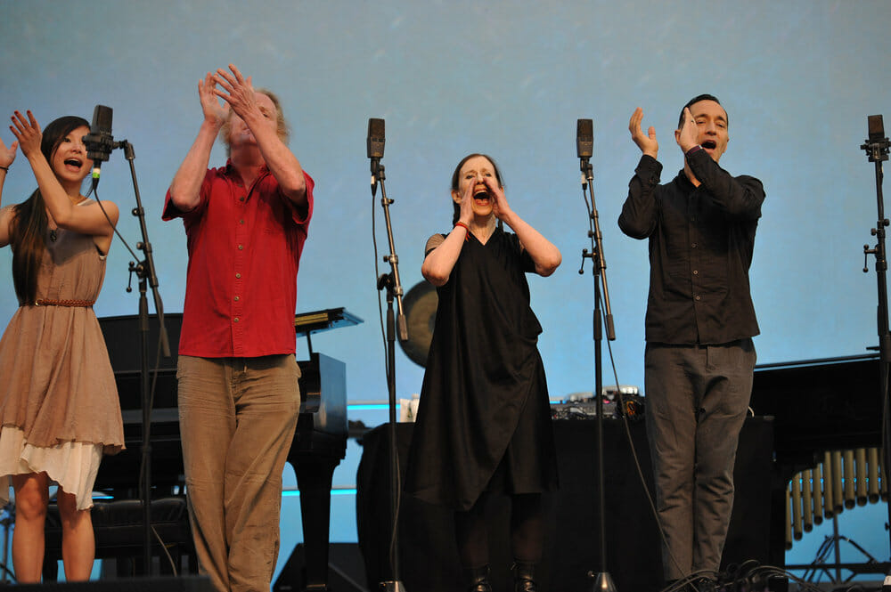 Bang on a Can All-Stars with Meredith Monk in Meredith Monk & Friends New York New York
