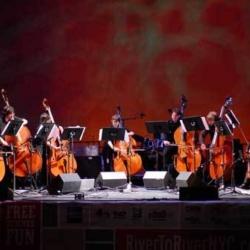 Music in the Garden: Hartt Bass Band Long Island City New York