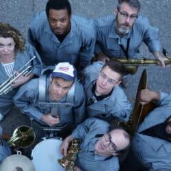 Asphalt Orchestra and Mark Stewart's Orchestra of Original Instruments on the Downtown Brooklyn Arts Festival Brooklyn New York