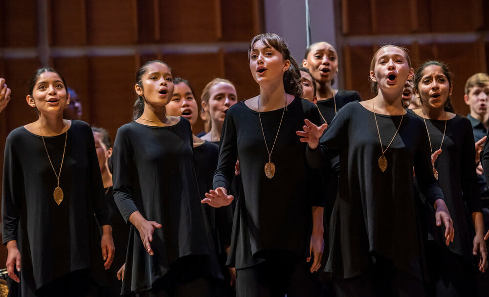 Bang on a Can and The Jewish Museum present: Young Peoples Chorus New York New York