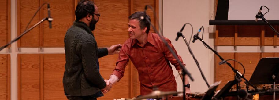 Bang on a Can All-Stars David Cossin and Qasim Naqvi