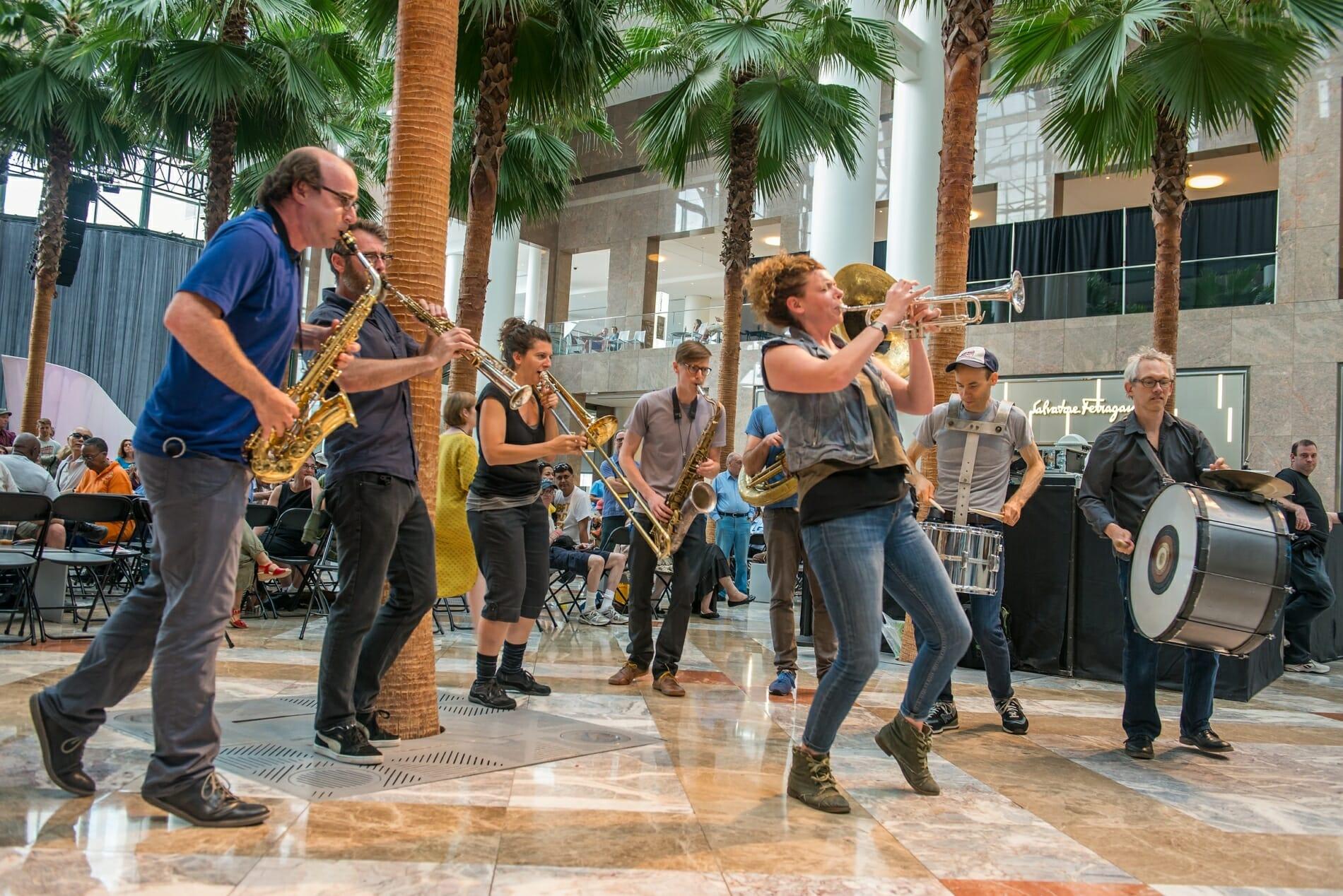Asphalt Orchestra at 2015 Bang on a Can Marathon